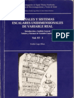 Señales y sistemas escalares unidimensionales de variable real