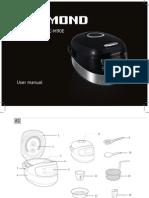 Redmond Rmc m90e User Manual Multicooker24