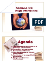 13. Estrategia Internacional