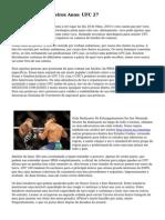 MMA&#039s Primeiros Anos