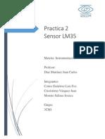 Instrumentación Lm35