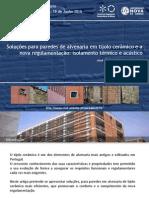 Seminário Paredes 2015 - Apresentação Preceram