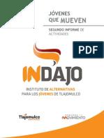 2do Informe de actividades del Instituto de Alternativas para Jóvenes de Tlajomulco