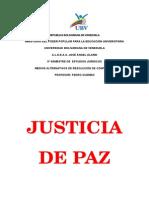 Justicia de Paz