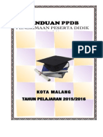 PANDUAN PPDB 2015