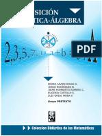 LibroTransicion Aritmetica-Algebra Grupo MESCUD U Distrital 1999
