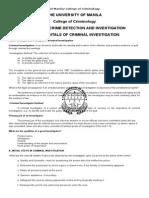 Fundamentals of Criminal Investigation(1)