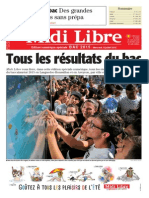 Edition du soir spéciale Bac 2015