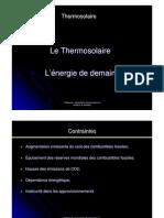 Présentation thermosolaire