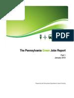 The Pennsylvania Green Jobs Report