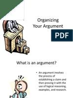 organizing arguments