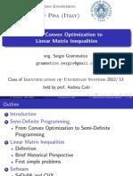 LMI-Linear Matrix Inequality