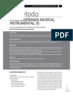 El Método en La Enseñanza Musical Instrumental [1]
