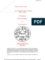 o MartinismO MARTINISMO - HISTÓRIA E DOUTRINA POR ROBERT AMBELAIM.pdf