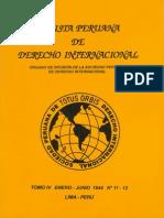 Revista Peruana de Derecho Internacional