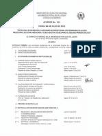 Acuerdo No. 011 Del 06 de Julio de 2015 - Calendario Academico 2015-2