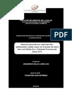 Formato de Informe Identificación