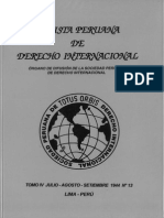 Revista Peruana de Derecho Internacional N° 13 - 1944