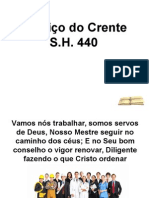 S&H440 Serviço do Crente.ppt