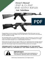 M70 Rifle 7.62x39