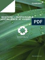CLARIANT EcoTain Brochure