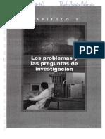Los problemas y las preguntas de investigación