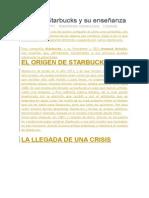 El Caso Starbucks y Su Enseñanza