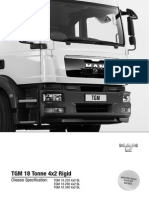 MAN TGM 18t 4x2 Rigid