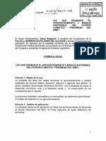 (PL) Promoción del aprovechamiento y manejo sostenible del Fenómeno del Niño