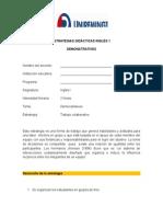 Estrategia Didáctica Inglés1