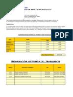 Liquidacion de Benefcios Sociales en Excel