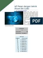 Steganografi Pesan Dengan Teknik Least Significant Bit