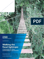 Walking Fiscal Tightrope