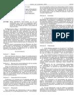 Real Decreto 1431-2003 Aceite Oliva y Orujo de Oliva