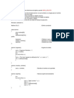 Programación en C++ Calificaciones Ejemplo Del Uso