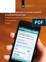 Using Smartphones in Survey Research