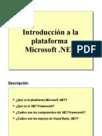 Aaaa1.- Introduccion a La Plataforma Microsoft .NET
