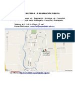 UNIDAD DE ACCESO A LA INFORMACIÓN PUBLICA ubicacion