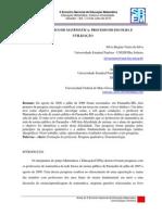 Livro Didático de Matemática_Processo de Escolha e Utilização