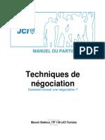 Techniques de Négociation - Manual-FRE