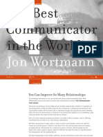 The Best Communicator in the World Jon