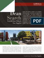 Dean Search
