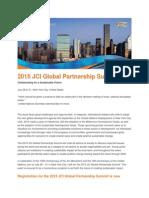 2015 JCI Global Partnership Summit