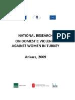 Domestic Violence Against Women in Turkey