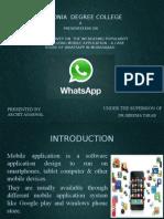 whatsapp presentation