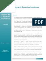 Informe de Coyuntura Económica - Junio 2015