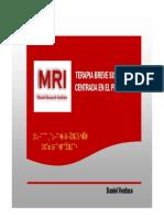 Antecedentes Historicos de La Terapia Del MRI