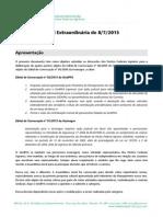 Documento base para a Assembleia Geral de 8/7/2015