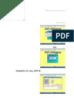 خطوات إسقاط خريطة طبوغرافيه علي برنامج جلوبرمابر ثم تحويلها وإسقاطها علي جوجل ايرث