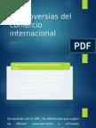 Controversias Del Comercio Internacional